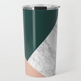Stylish Marble Travel Mug