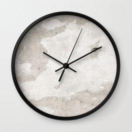 soft grey texture Wall Clock