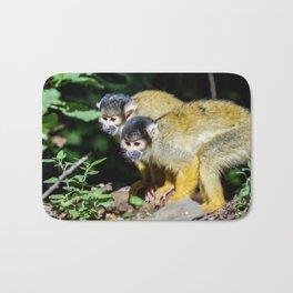 an Squirrel monkey Bath Mat