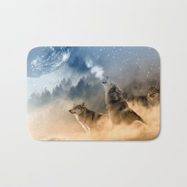 Moonrise Howl Bath Mat