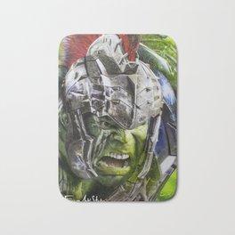 Hulk Ragnarok Rafart Bath Mat