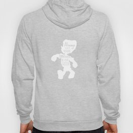 Always Let your Conscience Be Your Guide - Pinocchio inspired Print  Hoody