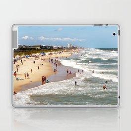 Tourist At Kure Beach Laptop & iPad Skin