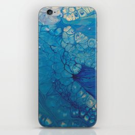 Dazzler - Blue Fluid Acrylic Abstract iPhone Skin