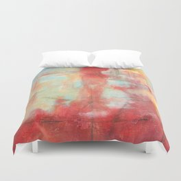 Ascension, Abstract Art Painting Duvet Cover