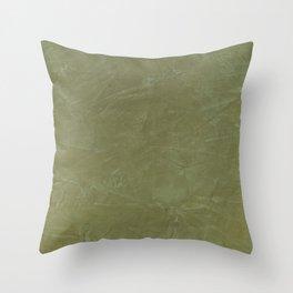 Italian Style Tuscan Olive Green Stucco - Luxury - Comforter - Bedding - Throw Pillows - Rugs Throw Pillow