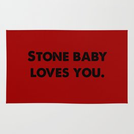 Stone Baby Love You (more) Rug