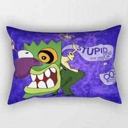 Eustace's Scary Mask Rectangular Pillow