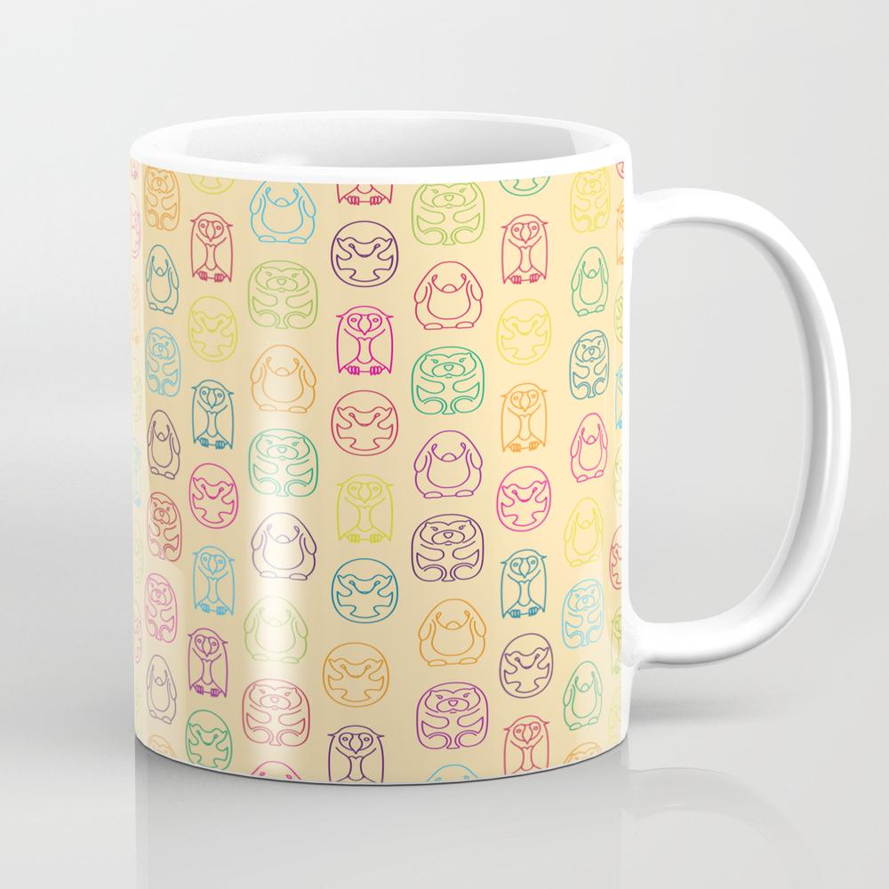Animal Pattern Coffee Cup by Creativemushroom MUG964328