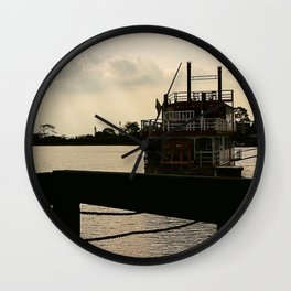 lake Wall Clock