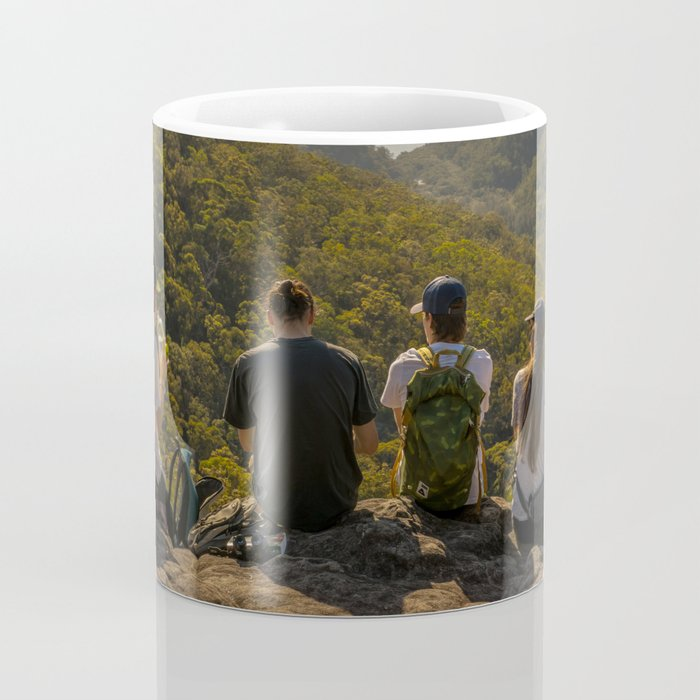 Looking toward Berowra Creek from Muogamarra Nature Reserve, Sydney Coffee Mug