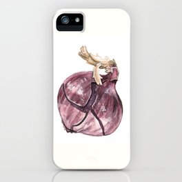 Red Onion iPhone Case