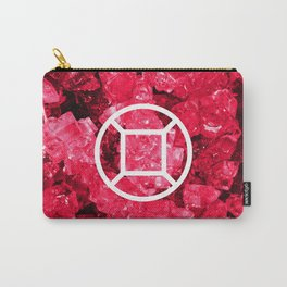 Ruby Candy Gem Carry-All Pouch