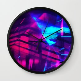 iDeal - Firefly LaserLights Wall Clock