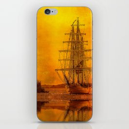 Tall Ships - Morning of Glory iPhone Skin