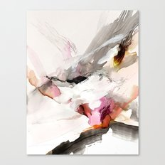 Day 23: Senses may override the mind, but a steady mind can abrogate the senses. Canvas Print