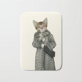 Kitten Dressed as Cat Bath Mat