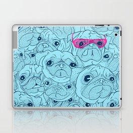 Pug jumble Laptop & iPad Skin