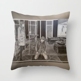 """""""Christian the submissive"""" Fifty Shades Darker Throw Pillow"""