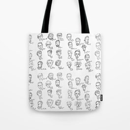 Famous Portuguese Writers Tote Bag