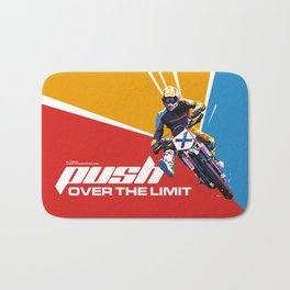 Motocross - Push Over The Limit #2 Bath Mat