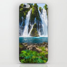 Burney Falls Delight iPhone Skin