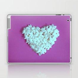 Heart on Lilac Laptop & iPad Skin