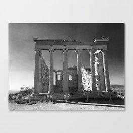 Roman Ruins near the Parthenon, Athens Canvas Print