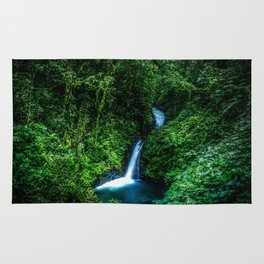 Jungle Waterfall Rug