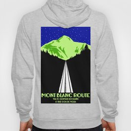 Mont Blanc Alps railway route Hoody