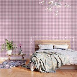 Light Pink Diamond Pattern Wallpaper
