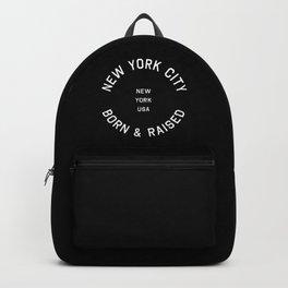 New York City - NY, USA (Badge) Backpack