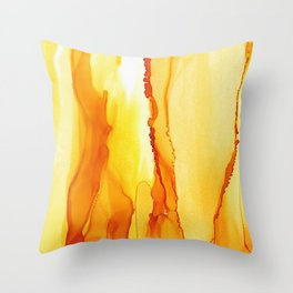 Dance With Me - Gold 2016 Throw Pillow
