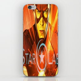 The Star Of Star Labs iPhone Skin