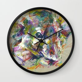 Vénielle the rat I Wall Clock