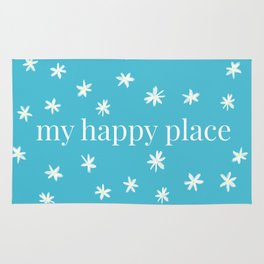 My Happy Place Daisies Rug