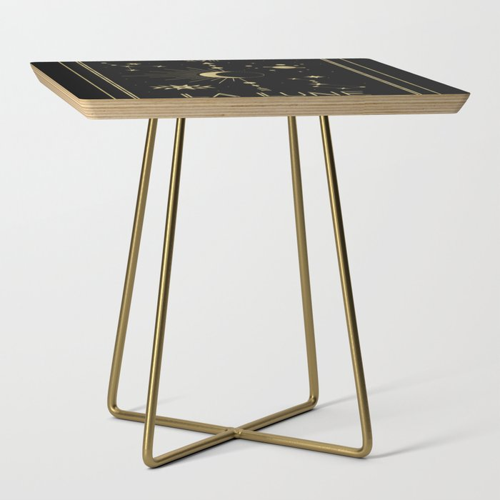 The Moon or La Lune Gold Edition Side Table