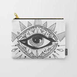 open eyes open mind Carry-All Pouch