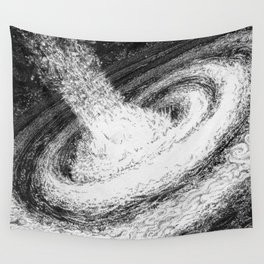 Galaxy Particles Infinite Wall Tapestry
