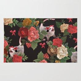 Opossum pattern Rug