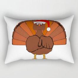 Another Christmas Turkey Rectangular Pillow