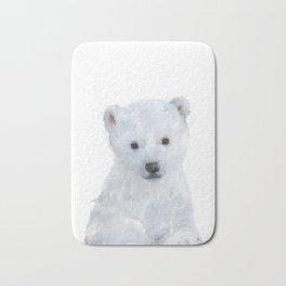 Little Polar Bear Bath Mat