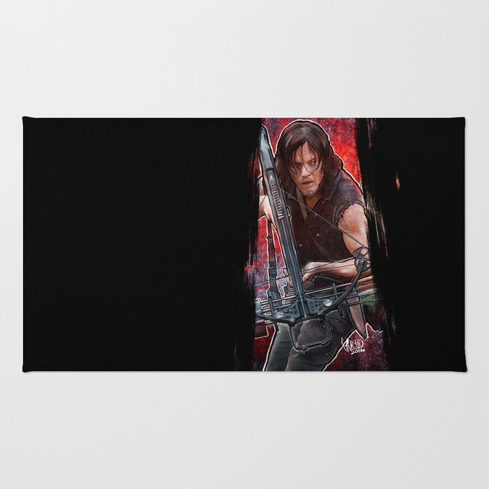 The Walking Dead - Daryl Dixon Rug