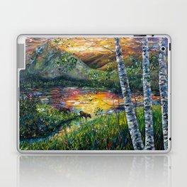 Sleeping Meadow (palette knife) Laptop & iPad Skin