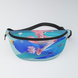 Time Bunny Girl's Time Travel Fanny Pack