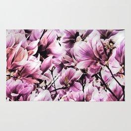 wild magnolia Rug