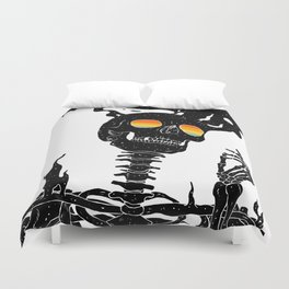 One with the Universe (Existential Diffusion) Duvet Cover