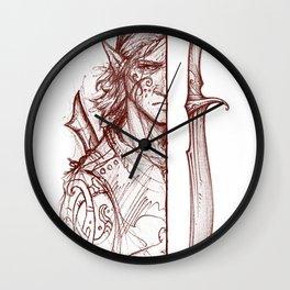 khuol'Shalkrumgr - Cedarlore Elven Sword Wall Clock