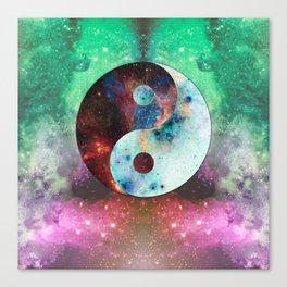 Ying-Yang Galaxy Canvas Print