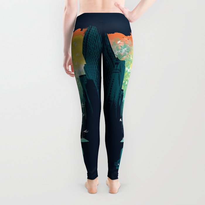 I Want My Blue Sky Leggings